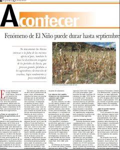 Fenómeno de El Niño 1