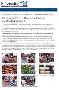 Feria Agrícola FAUSAC